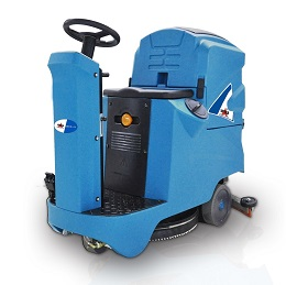 RIDE-ON SCRUBBER DRYER RIDER A-10