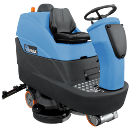 A24 Ride On Floor Scrubber Dryer