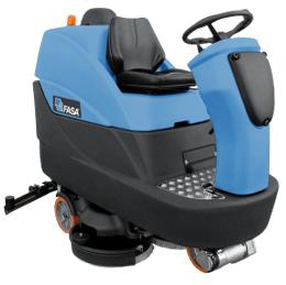 A24 Ride On Floor Scrubber Dryer