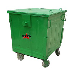 Dustbin 1100 Ltr. MS & GI