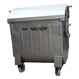 Garbage GI Dustbin 1100 Ltrs