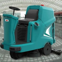 Floor Scrubber Dryer Machine